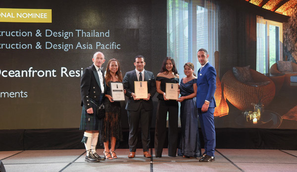 BLUE HORIZON DEVELOPMENTS SCORE BIG FOR THAILAND AT ASIA PACIFIC PROPERTY AWARDS 2018