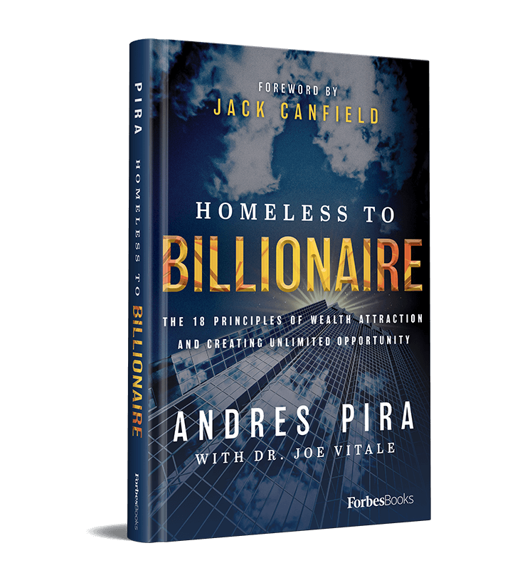 Homeless to Billionaire Forbes Book by Andres Pira