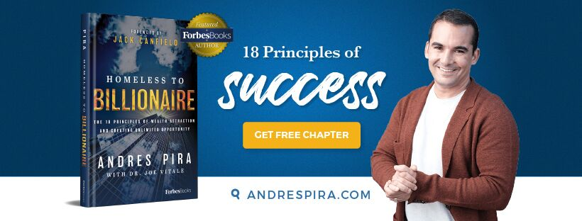 Homeless to Billionaire, a Book for Success by Andres Pira