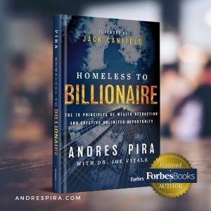 Homeless to Billionaire book launched