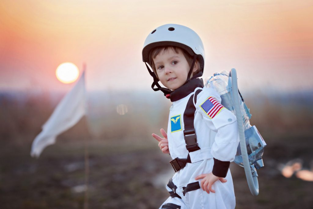 Some Children Dream of Being Astronauts