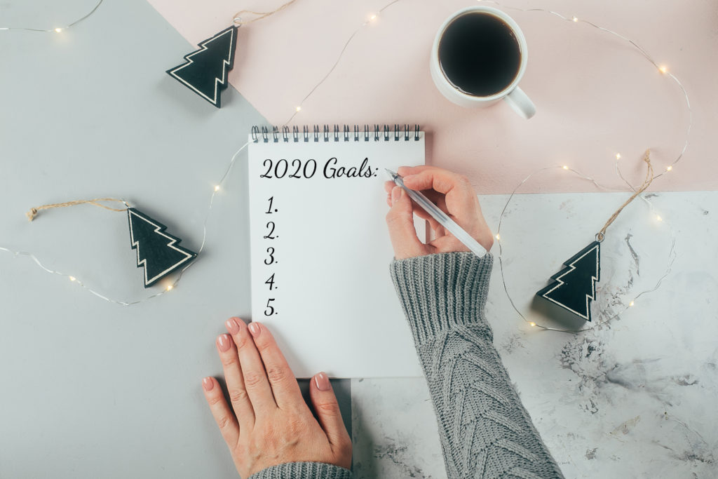 Writing Goals for 2020