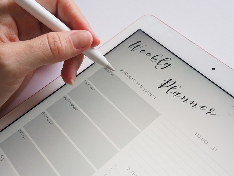 Using an Electronic Planner