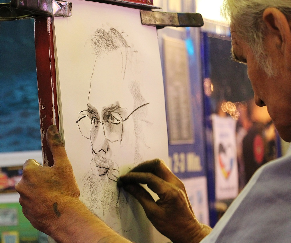 Someone Drawing a Portrait